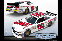 Sam Ard car design for Cole Custer