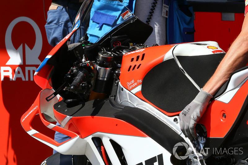 دراجة خورخي لورينزو، فريق دوكاتي