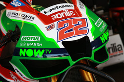 Sam Lowes, Aprilia Racing Team Gresini fairing detail