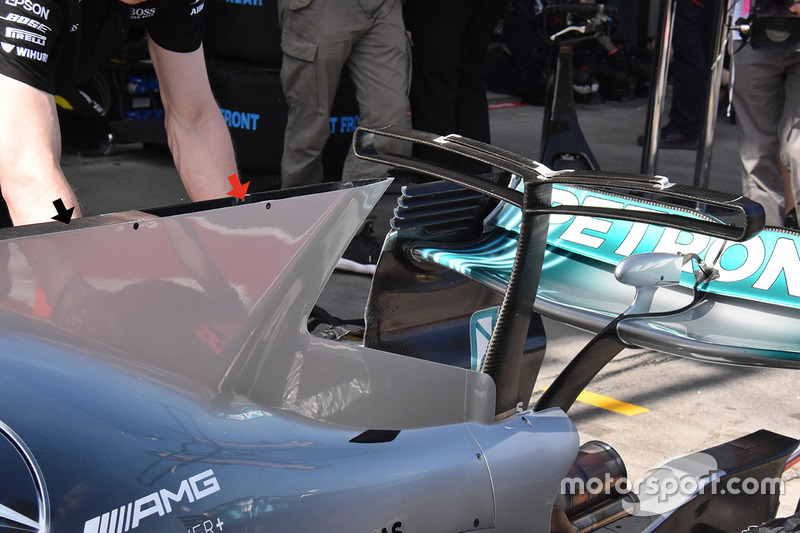 Mercedes AMG F1, W08: Finne