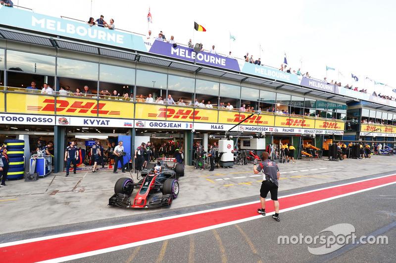 Romain Grosjean, Haas F1 Team, VF-17