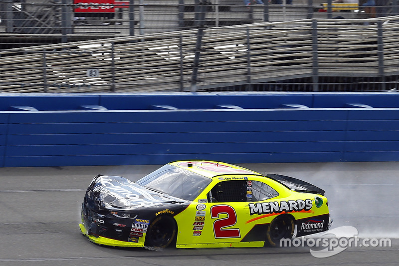 Paul Menard, Richard Childress Racing Chevrolet, choca