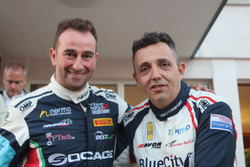 Simone Faggioli et Christian Merli