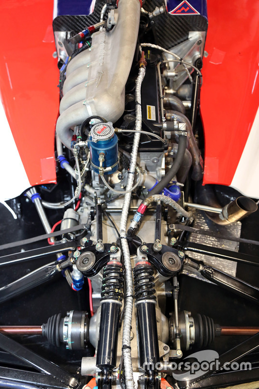Detalle de motor Moutune