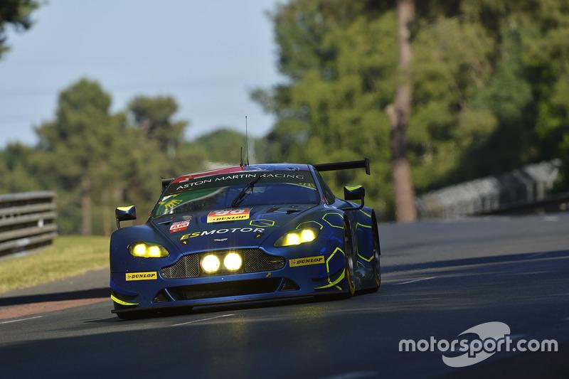 7. LMGTE-Am: #90 TF Sport, Aston Martin Vantage GTE