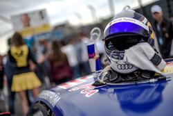 Helm von Mattias Ekström, Audi Sport Team Abt Sportsline, Audi A5 DTM