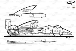 Vue d'ensemble de la Ferrari F92A (644)