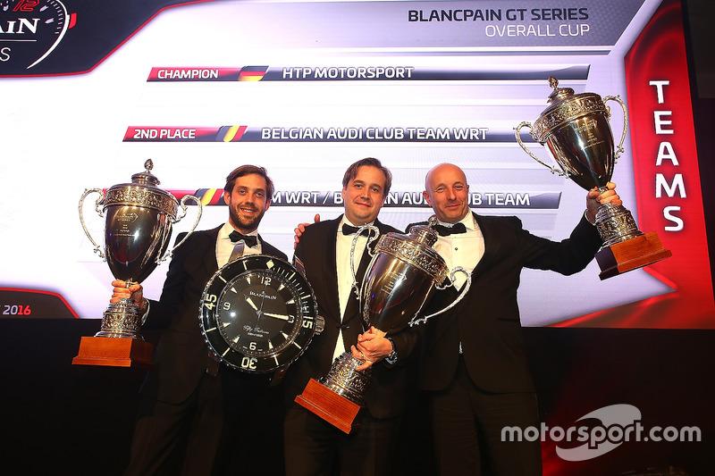 Equipos 2016 HTP Motorsport, campeón, Belgian Audi Club Team WRT,segundo lugar, Team WRT/ Belgian A