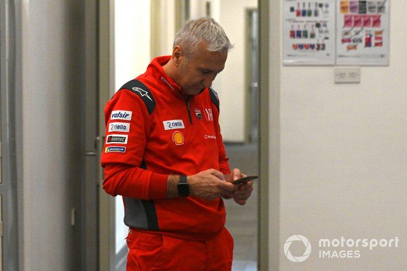 Давіде Тардоцці, керівник команди Ducati Team