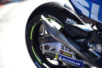Team Suzuki MotoGP, dettaglio dello scarico