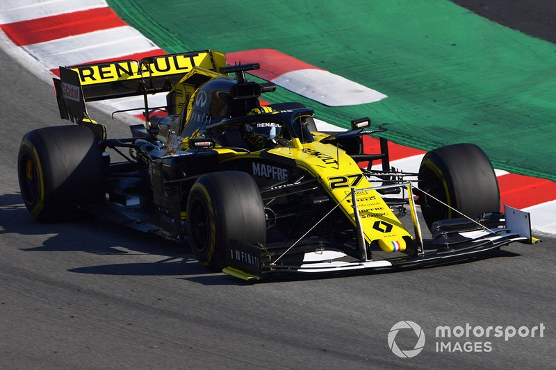 Renault F1 Team R.S. 19 with front fender
