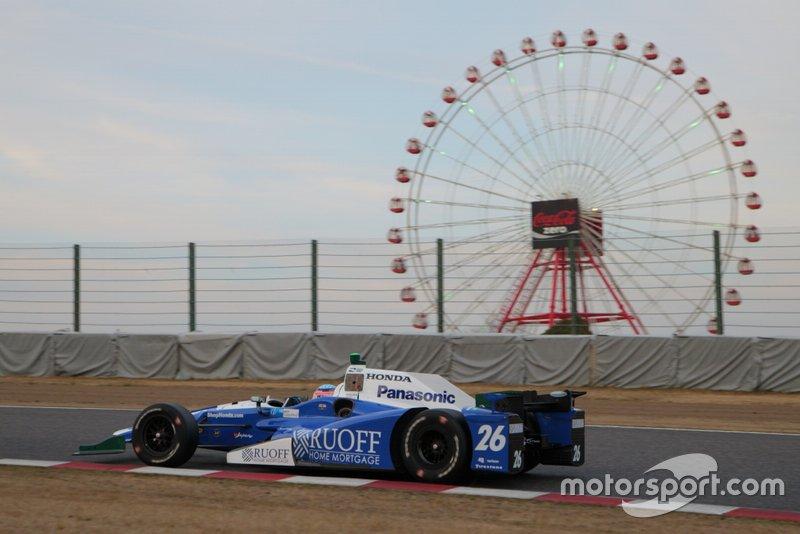 佐藤琢磨と、アンドレッティ・オートスポートのインディ500優勝マシン