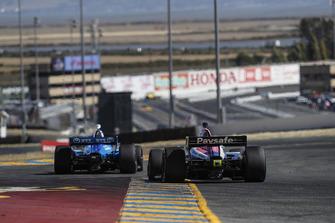 Ed Jones, Chip Ganassi Racing Honda, Pietro Fittipaldi, Dale Coyne Racing Honda