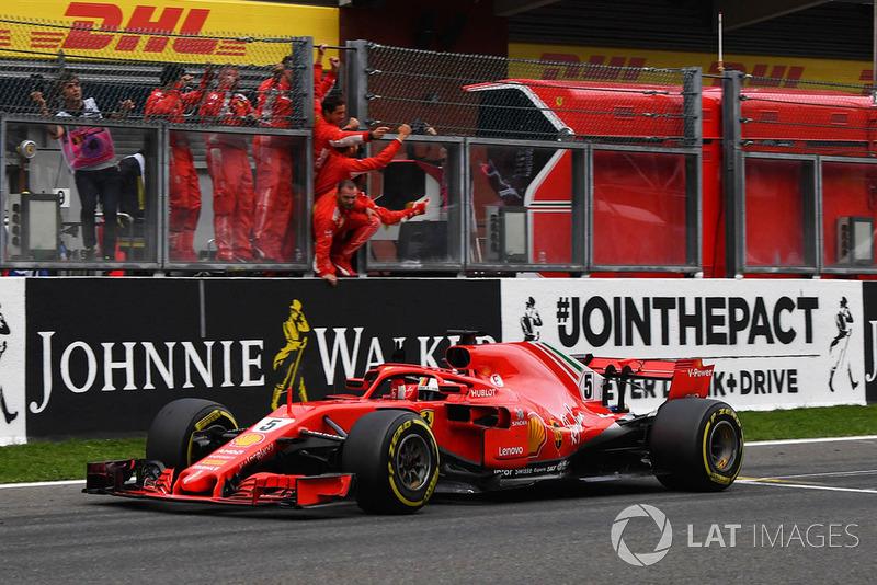 Vettel artık Prost'un önünde