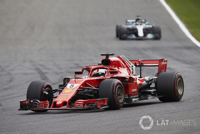 Belgique - Sebastian Vettel