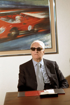 Fiorano 1974, Enzo Ferrari in the meeting room of his house