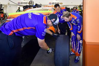 Brad Keselowski, Team Penske, Ford Fusion, mit Paul Wolfe