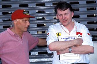 Niki Lauda, John Barnard