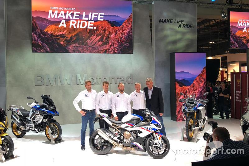 BMW Motorrad Team Presentación