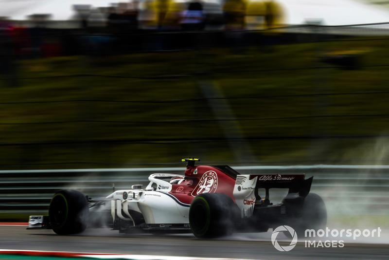 Шарль Леклер, Sauber C37 Ferrari