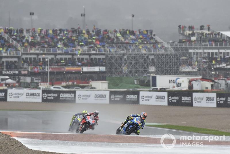 Alex Rins, Team Suzuki MotoGP, rain