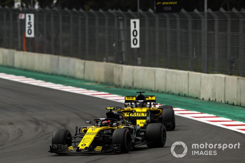 Карлос Сайнс, Renault Sport F1 Team R.S. 18, Ніко Хюлькенберг, Renault Sport F1 Team R.S. 18