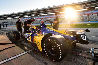 Marcowe testy IndyCar