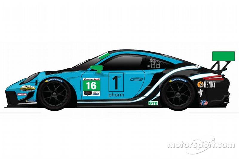 Wright Motorsport renk düzeni tanıtımı