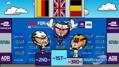第1戦ディルイーヤePrixレース1
