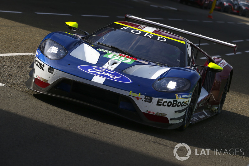 7. LMGTE-Pro: #69 Ford Chip Ganassi Racing, Ford GT