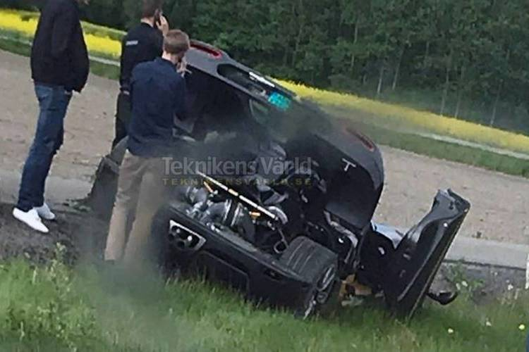 Autó Egy év alatt másodszor tört össze a Koenigsegg Agera RS Gryphon