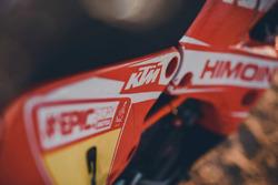 KTM logo, KTM 450 Rally, Himoinsa Racing Team
