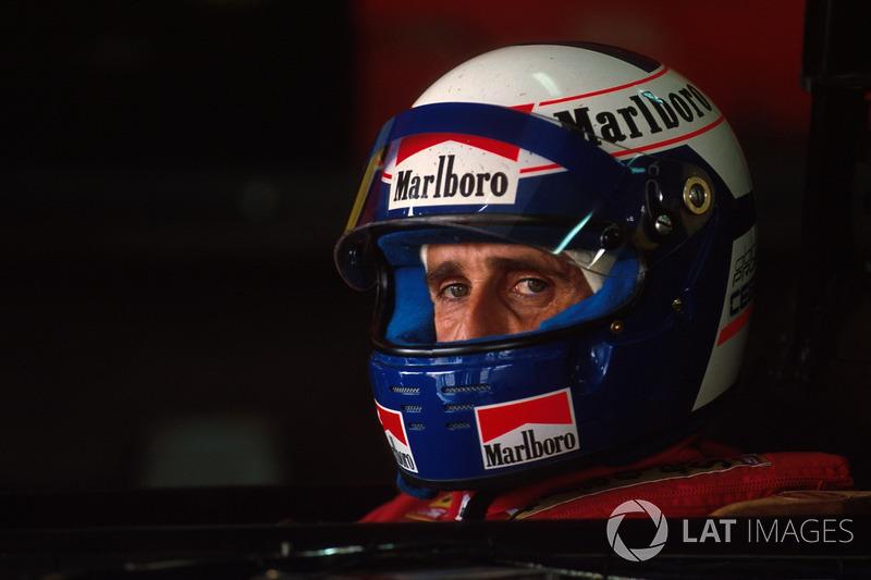 Alain Prost - Four titles (1985, 1986, 1989, 1993)
