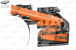 McLaren MCL32 launch nose