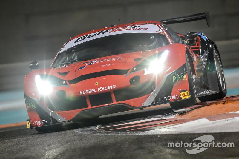 #11 Kessel Racing Ferrari 488 GT3: Давиде Ригон, Мигель Молина, Михал Бронишевски