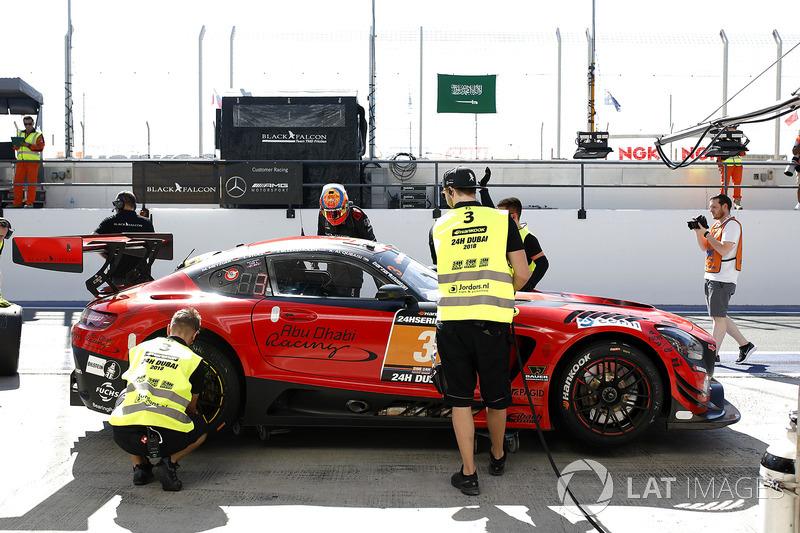 #3 Black Falcon Mercedes-AMG GT3: Khaled Al Qubaisi, Jeroen Bleekemolen, Luca Stolz, Manuel Metzger