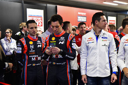 WRC drivers open the show