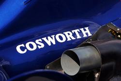 Cosworth logo on the Williams FW28