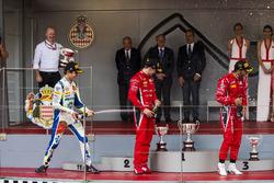 Podyum: Lando Norris, Carlin, Antonio Fuoco, Charouz Racing System, Louis Deletraz, Charouz Racing System