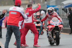 Le vainqueur Andrea Dovizioso, Ducati Team