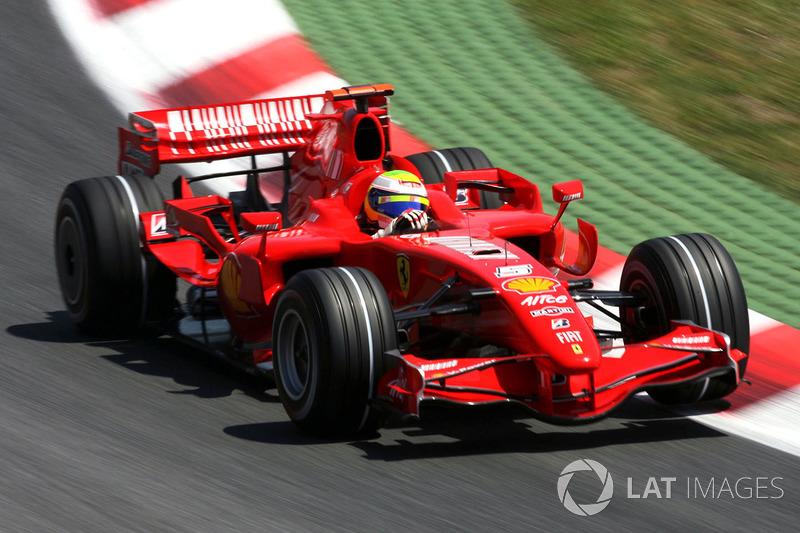 4: Felipe Massa: 225 GPs (83,64% dos disputados)