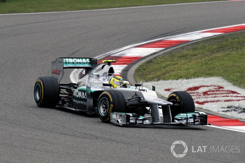 Mercedes W03 (2012)