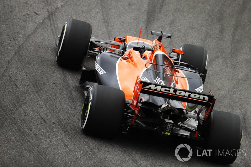 6. Fernando Alonso, McLaren MCL32