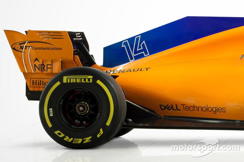 McLaren MCL33 rear detail
