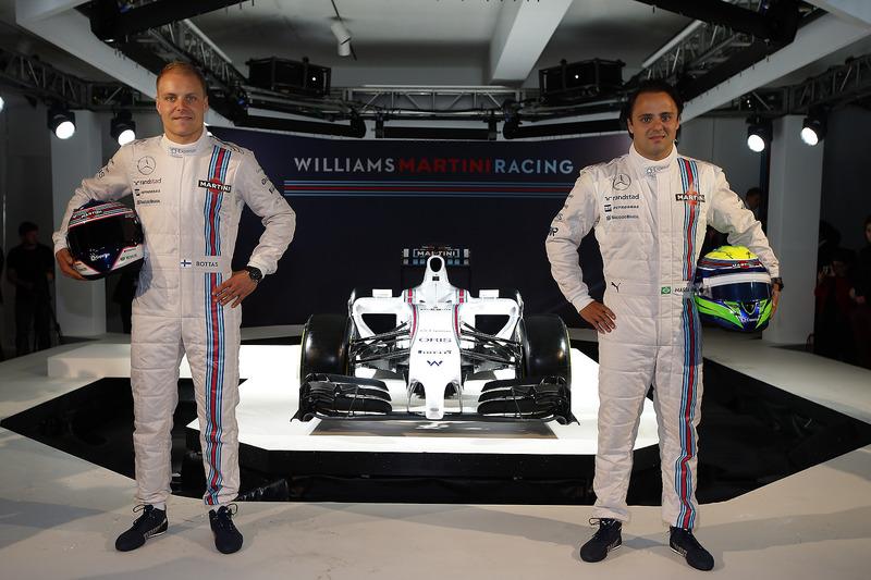 I piloti Valtteri Bottas e Felipe Massa