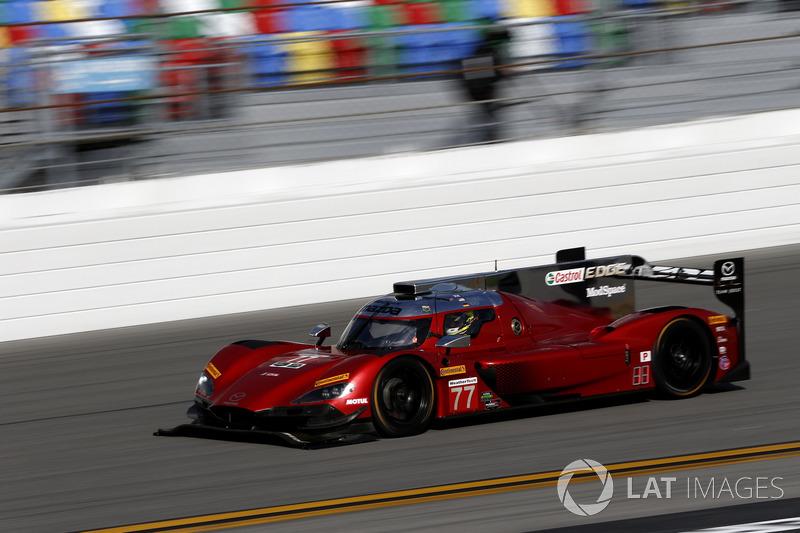 19.- #77 Mazda Team Joest Mazda DPi: Oliver Jarvis, Tristan Nunez, Rene Rast