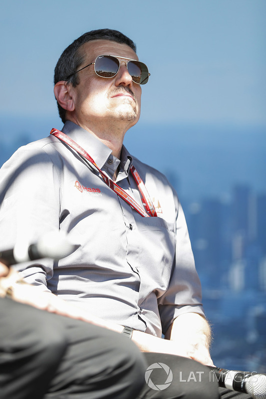 Guenther Steiner, Team Principal, Haas F1, on stage