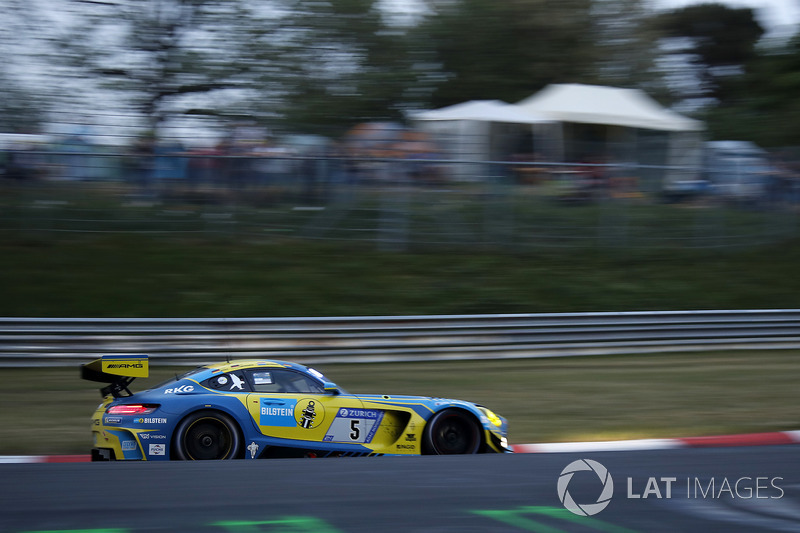 3. #5 Mercedes-AMG Team Black Falcon Mercedes-AMG GT3: Yelmer Buurman, Thomas Jäger, Jan Seyffarth, Luca Stolz