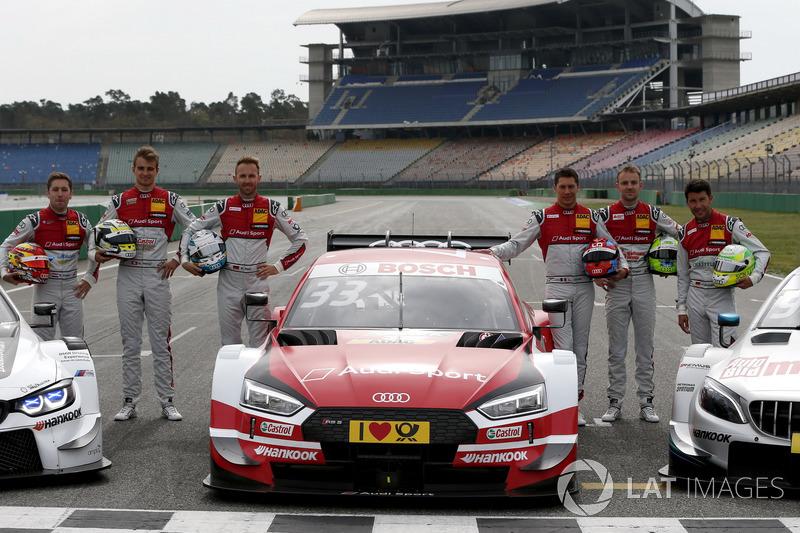 Pilotos de Audi 2018