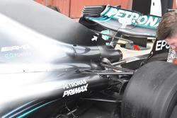 Mercedes GP W09 rear